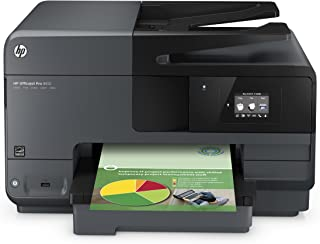HP OfficeJet Pro 8610 All-in-One Wireless Printer with Mobile Printing, HP Instant Ink or Amazon Dash replenishment ready ...