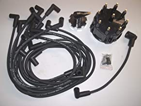 Mercruiser Thunderbolt V8 DISTRIBUTOR CAP ROTOR SPARK PLUG WIRES KIT SET 5.0 5.7 7.4 8.2 350