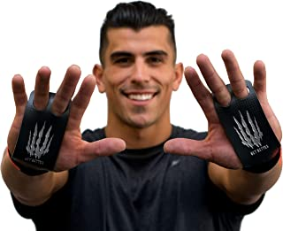 Bear KompleX 2-gaats Carbon Handgrepen voor gymnastiek, Crossfit, Pull-ups, Gewichtheffen, WOD's met polsbanden, comfort e...
