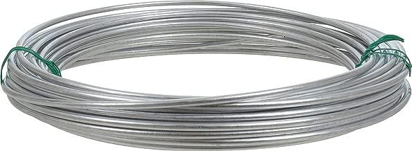 Hillman 122062 Galvanized Solid Wire 9 Gauge, 50 foot coil