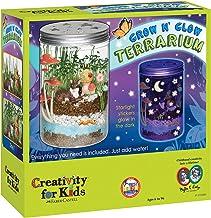 Creativity for Kids Grow 'n Glow Terrarium - کیت آموزشی برای کودکان و نوجوانان