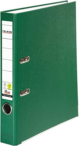 Falken - Classeur Rigide Largeur du dos 50 mm schmal vert