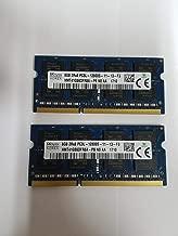 Hynix original 16GB (2 x 8GB), 204-pin SODIMM, DDR3 PC3L-12800, 1600MHz memory module