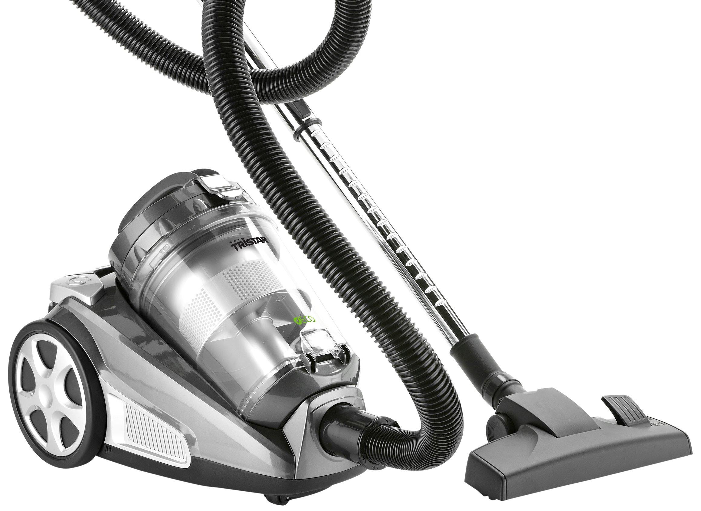 Tristar SZ-2135 Aspirador Multi Ciclónico, 1000 W, 3 liters, 77 Decibelios, Negro, Gris: Amazon.es: Hogar