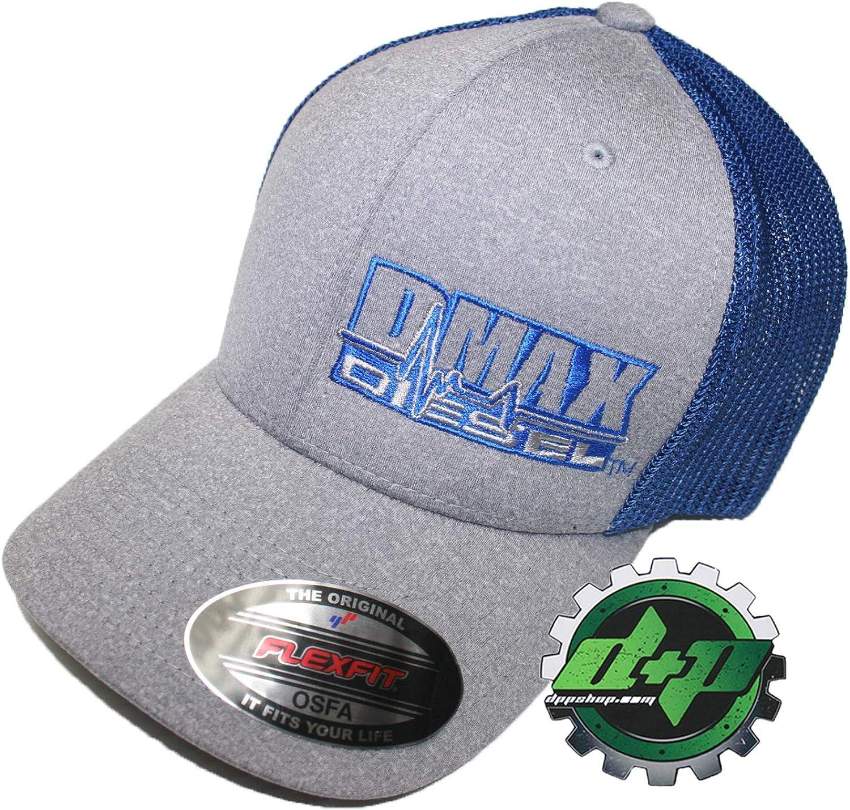 Diesel Power Plus Dmax Duramax Hat Ball Cap Fitted Flex Fit Flexfit Stretch OSFA blueee