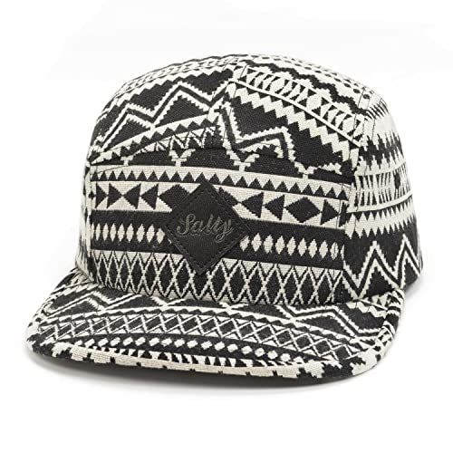 Hatphile Pattern Multi Color Stripe 5 Panel Hat