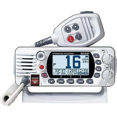 STANDARD HORIZON Eclipse-Series VHF Radio,White,Small