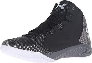 Under Armour Men's Torch Fade Basketball Shoe, Black/Graphite/Aluminum