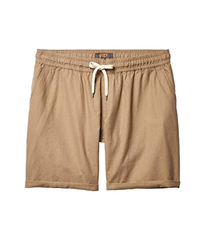 Johnny Bigg Big Tall Byron Linen Blend Shorts (Camel) Men