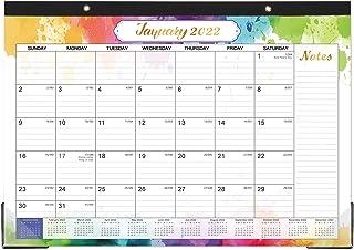 "Desk Calendar 2020-2021 - 18 Months Desk Calendar, 17"" x 12"", Monthly Desk or Wall Calendar, July 2020 - December 2021, La..."