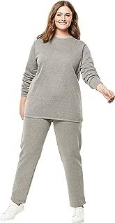 Women's Plus Size Fleece Sweatsuit