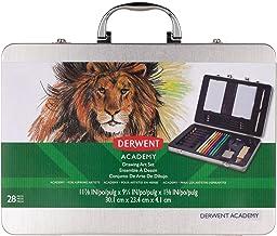 Derwent Academy Drawing Art Set, 28 Pieces (97038)