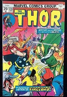 Thor (1966) #234 VF- (7.5) Vs Loki Iron Man + Firelord App