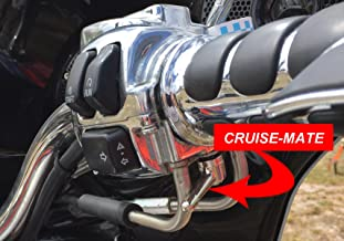 Cruise-Mate Chrome 2004-CHR-FBA for Harley-Davidson motorcycles 1996 - Present (except 2014 + touring models Road King, Road Glide, Street Glide, Electra Glide)