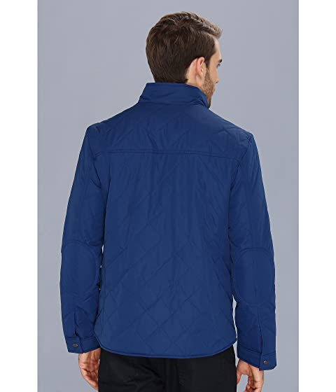 Leather Cole Haan w Quilted Details Jacket Oxfg7T