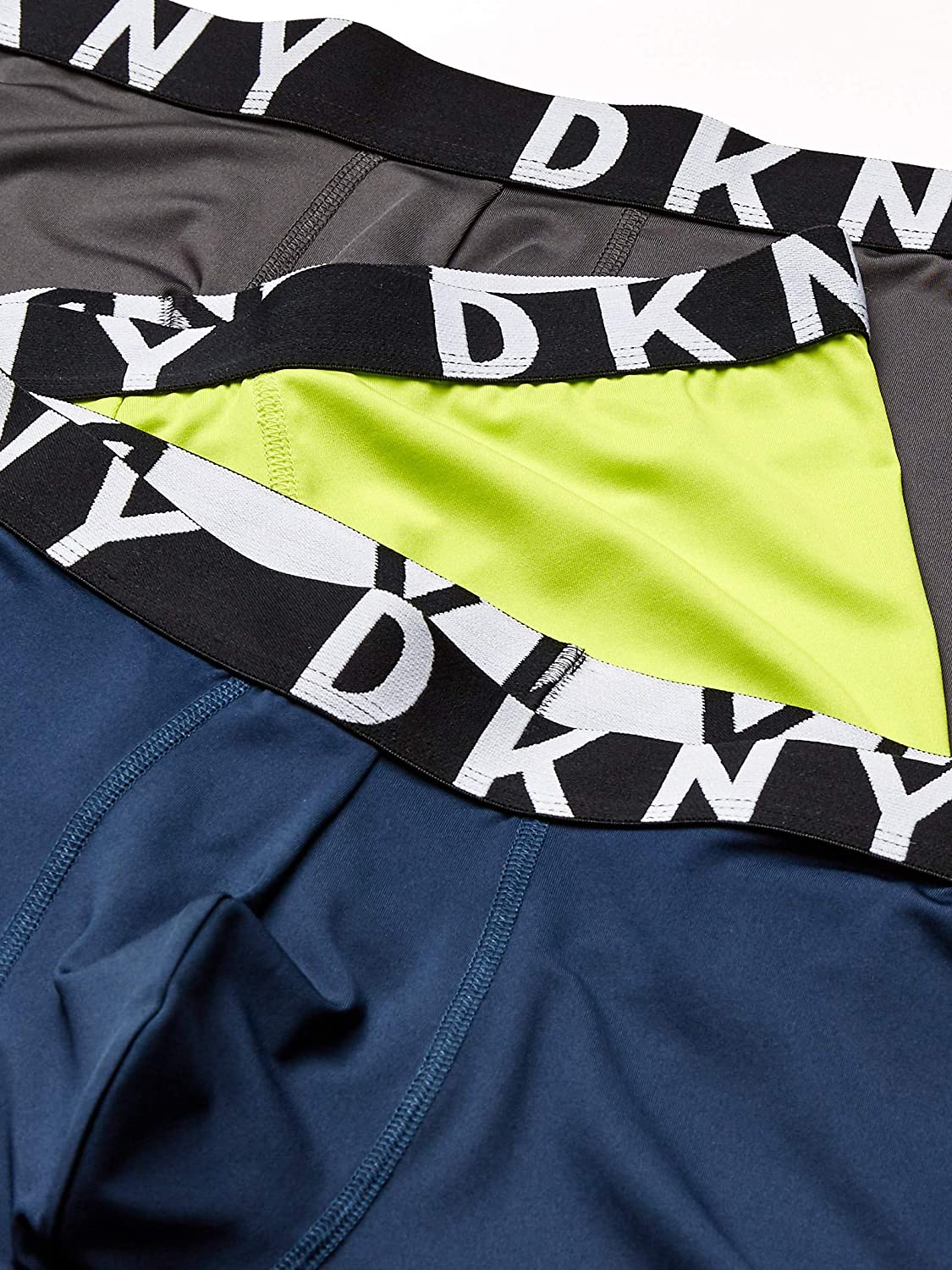 DKNY Men's Micro Stretch Trunk 3-Pack: Clothing