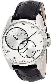 Hamilton - H42615753 - Reloj para hombres, correa de acero inoxidable color plateado