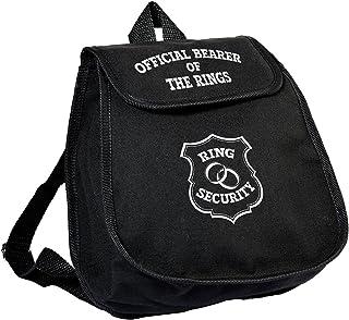Lillian Rose TR676 RB Ring Bearer Backpack Bag Keepsake Gift, Multicolor