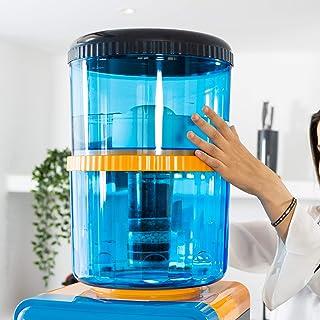 ECODE Deposito purificador de agua 7 niveles de purificacion 20 litros Filter Tower, Filtros recambio ECO-3190F