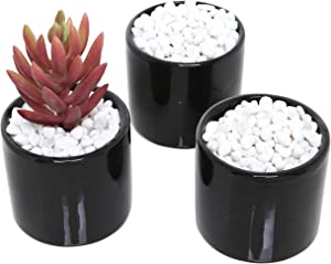 (Set of 2) 8-lb Bag Mini White Synthetic River Pebbles Vase Fillers, Decorative Accent Stones, 0.2 to 0.4-Inch Stones