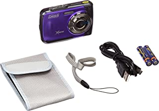 Coleman Xtreme 18.0 MP HD Underwater Digital Video Camera Waterproof to 10 ft. 2.5 Purple C20WP-P