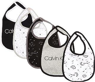 Calvin Klein Baby 5 Pack of Bibs