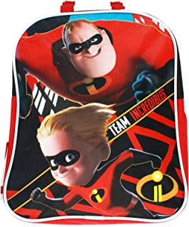 Pixar The Incredibles 2 Movie Team Incredibles Mini Backpack Book Bag for Back to School - 11 Inches