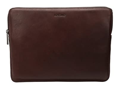 KNOMO London Barbican Sleeve 12 (Brown) Bags