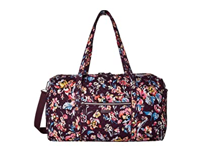 Vera Bradley Iconic Large Travel Duffel (Indiana Rose) Duffel Bags
