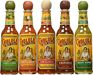 Cholula Hot Sauce Variety Pack - 5 Different Flavors