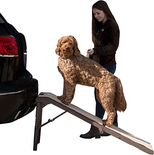 Pet Gear Free-Standing Extra Wide Pet Ramp for Car