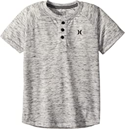 Hurley Kids Cloud Slub Henley (Little Kids)