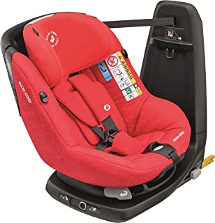 Maxi-Cosi Axissfix - Silla de auto giratoria I-Size, grupo 1, 9-18 kg. Aprox, unisex, color Nomad Red