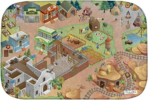 House Of Kids 86029-E3 - Playmat Ultra Soft Alamo Connect, 130 x 180 cm