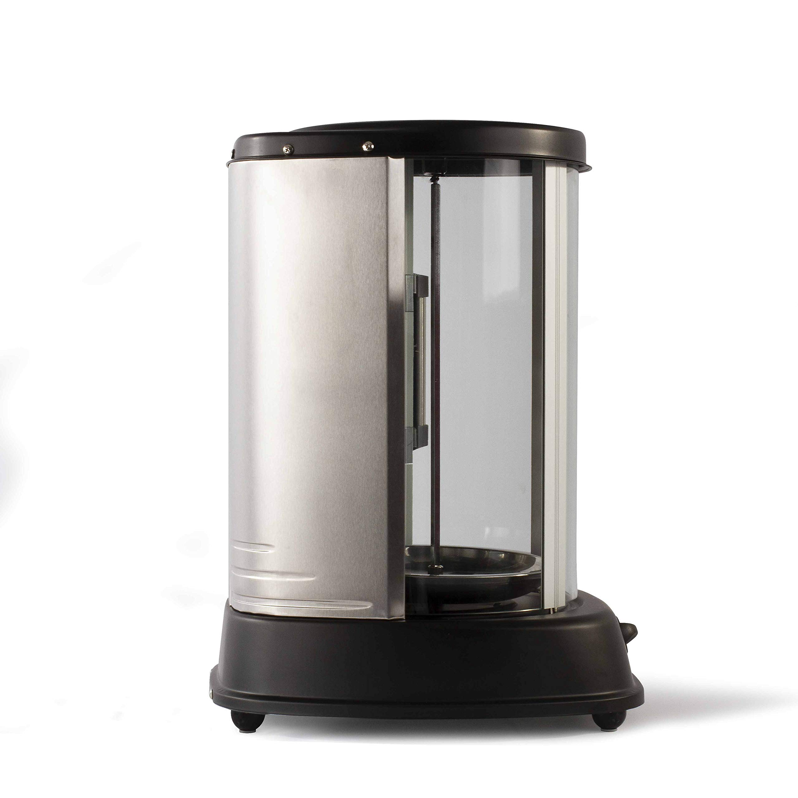 Domoclip 323DOM - Parrilla eléctrica rotativa, 1500 W, color negro: Amazon.es: Hogar