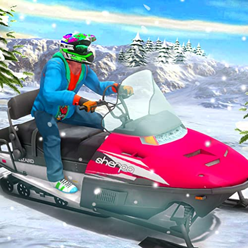 Snow ATV Bike Stunts Racing: Moto Rider Extreme Challenge 3D