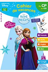 Cahier de vacances la Reine des Neiges du CP au CE1 - Cahier de vacances Broché