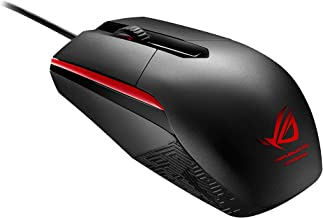 ASUS ROG SICA Gaming Mouse, A Weapon for Champions of The Light, Black (Renewed)