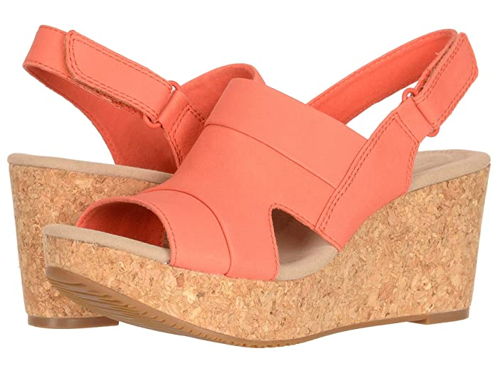 Clarks  Annadel Ivory (Coral Nubuck) Womens  Shoes