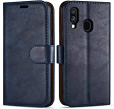"Case Collection Premium Leather Folio Cover for Samsung Galaxy A20e Case (5.8"") Magnetic Closure Full Protection Book Design Wallet Flip with [Card Slots] and [Kickstand] for Galaxy A20e Phone Case"