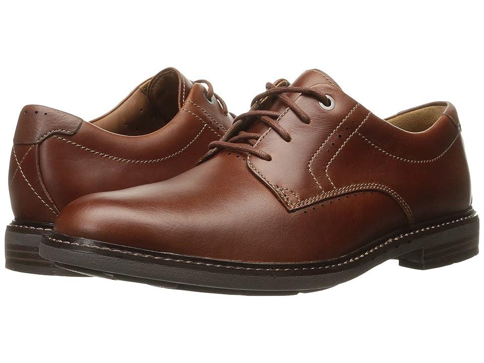 Clarks Un.Elott Plain (Tan Leather) Men