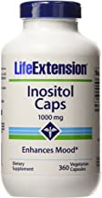 Life Extension Inositol 1000mg Vegetarian Capsules, 360-Count
