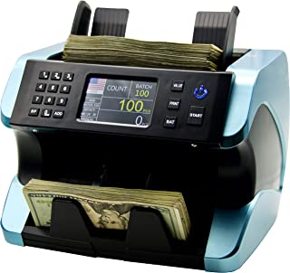 IDLETECH BC-1500 USD Money Counter Machine with Counterfeit Detection, Automatic Money Counting, Money Counter. UV/MG/IR/D...