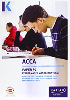 ACCA F5 Performance Management - Complete Text