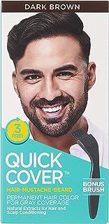 KISS Quick Cover Hair Colour For Men QMC04, Dark Brown
