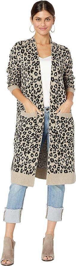 Leopard Jacquard