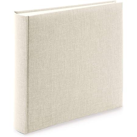 goldbuch Summertime Trend 2 31605 Album photo avec 100 pages blanches avec intercalaires en papier de qualité Beige 30 x 31 cm