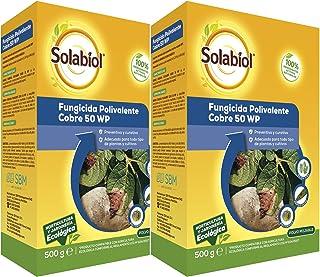 Solabiol Fungicida de Cobre ecológico para Plantas 100% org