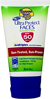 Banana Boat Ultra Protect Faces Sunscreen Lotion SPF50 (60ml)
