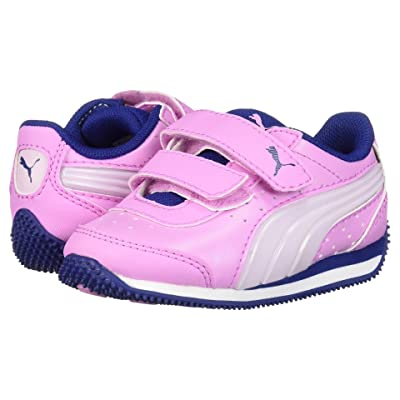 Puma Kids Speed Lightup Power V (Toddler) (Orchid/Winsome Orchid/Sodalite Blue) Girls Shoes